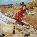 alquiler de máquinas para tratar escombros de construcción